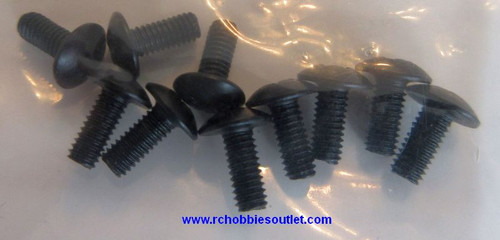 18249  2.6x6mm Cap Head Machine Screws