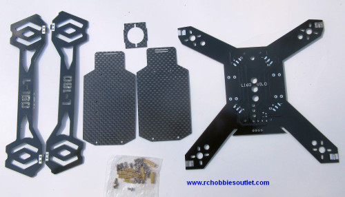 Chassis Frame Carbon Fiber for L-160  Racing Drones
