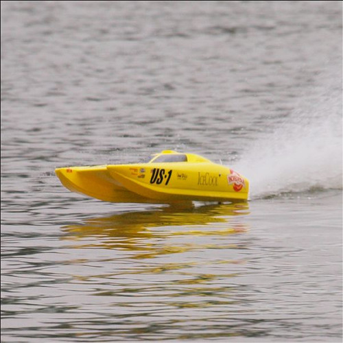 RC Racing Boat US-1  V3 Brushless Electric ARTR Catamaran
