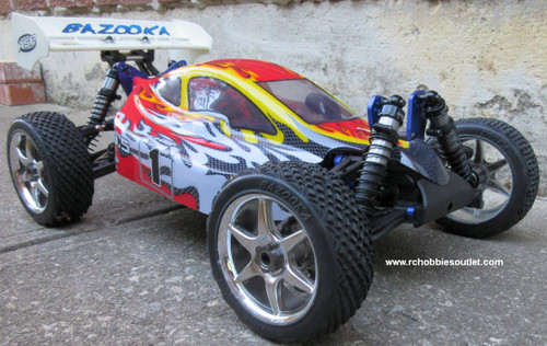 RC Buggy/ Car  Brushless Electric LIPO 1/8 Scale BT9 Bazooka 2.4G 4WD  81355