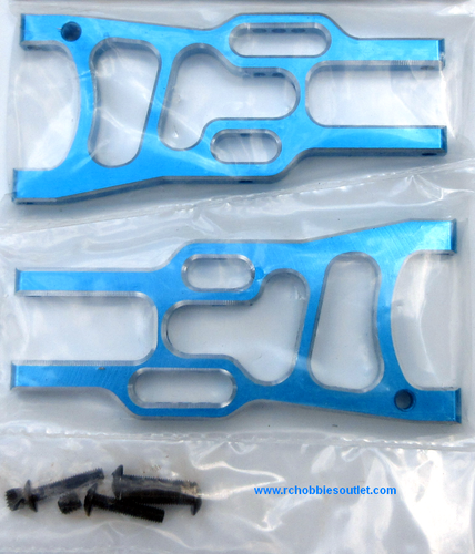 06050, 106019, 106619 Alloy Front Arm Suspension 1/10 Scale HSP Redcat ETC Blue