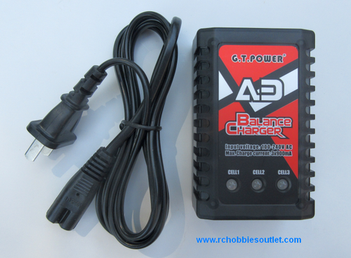 GT POWER AD LiPo Battery Balance Charger 2 - 3 Cells