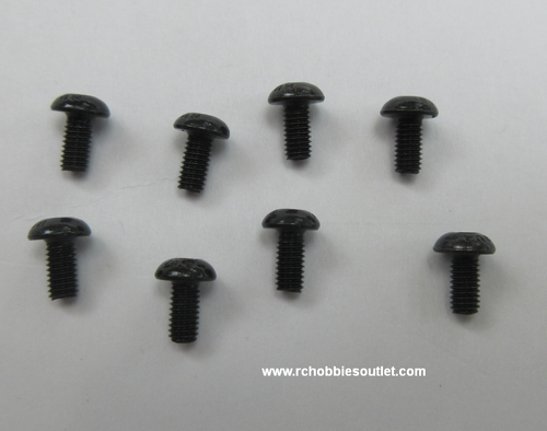 2.5x6mm Metal Screw (8pcs)