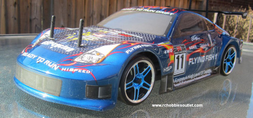 RC Drift Car blue