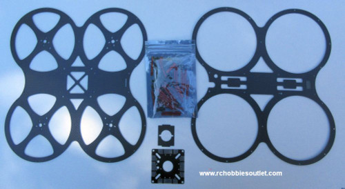 L160-2 Racing Drone Chassis / Frame with Spacers and Screws
