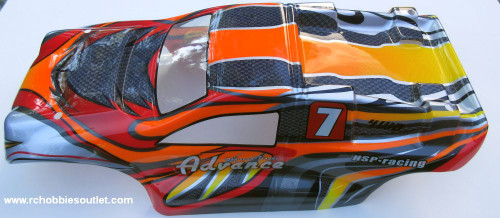 08061 -4 New 1/8 Scale RC Truggy Body