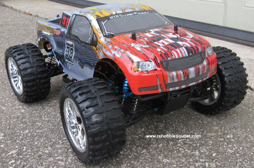 RC Brushless Electric Truck 1/10 Scale  PRO LIPO 2.4G 4WD  88043