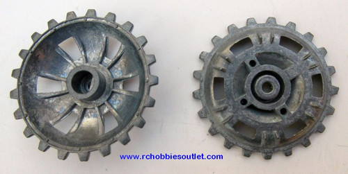 Heng Long  Panzer III Tank  3848 Metal Drive/Sprocket Wheels