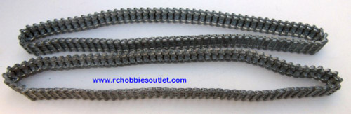 Heng Long Metal Track  For  RC Panzer III Tank 3848 ( 2 tracks)