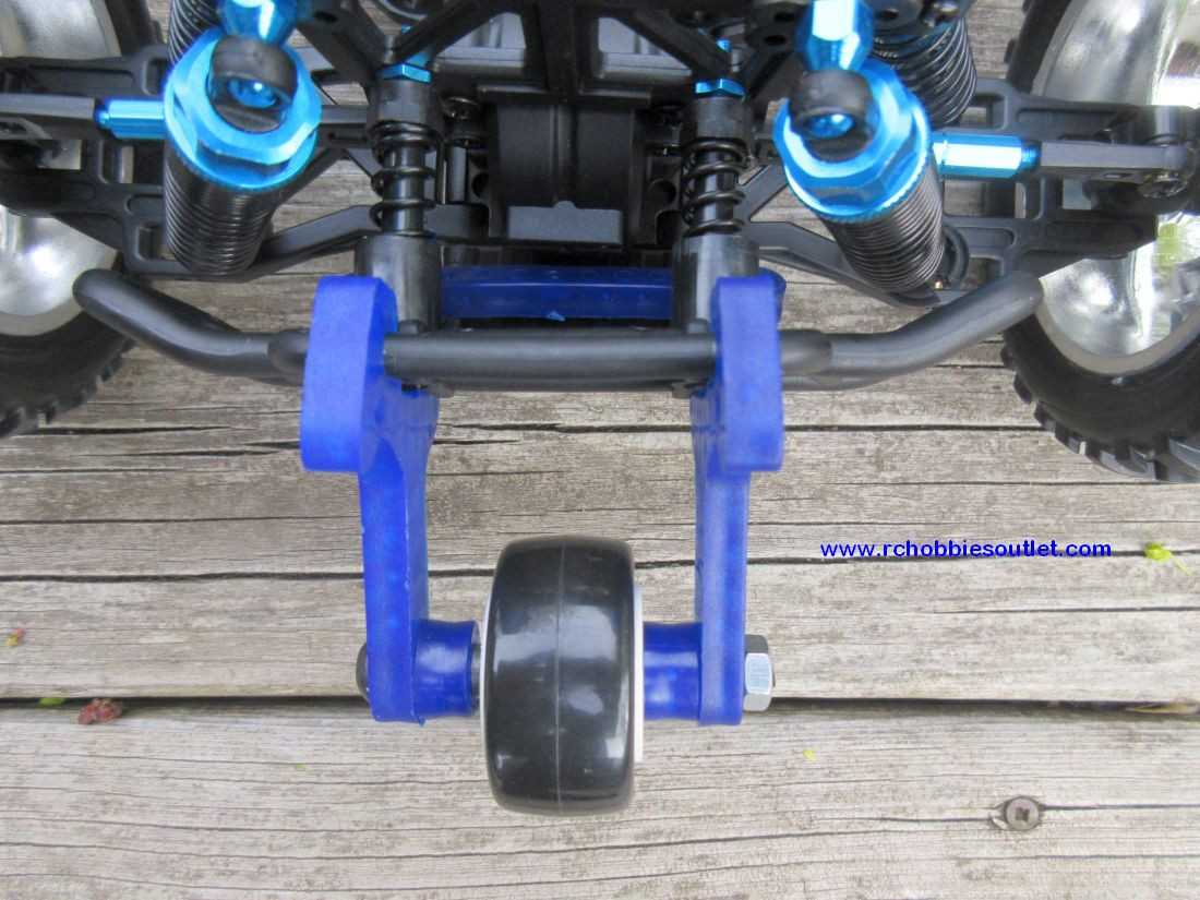 Wheelie Bar for 1/10 Scale HSP Monster Trucks, Redcat