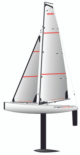 Joysway DragonForce 65 Version 6 RC Sailboat/ Yacht RTR 8815