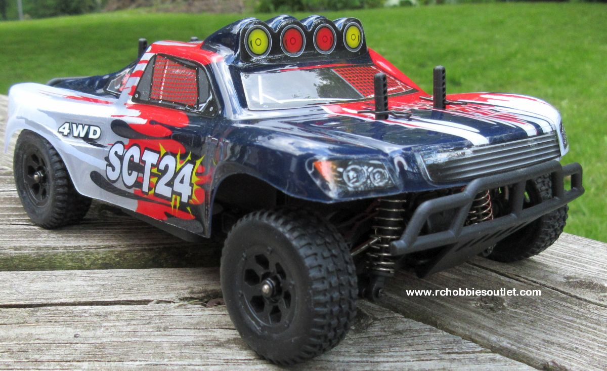 SCT24 Short Course RC Truck HSP Electric 4WD 2 4G 1/24th