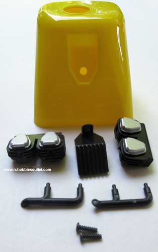 620204 Cowling-Yellow For J3-Cub V2 RC Airplane