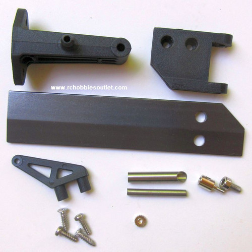 860104 Rudder and Support Set For Rocket Joysway RC Boat