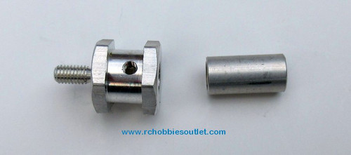 13023  Aluminum Wheel Hex and Hub for HSP F1 Car and Go Kart