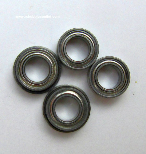 860309 Bearing (pk2) + Flange Bearing (pk2) For Mad Flow V2 Tunnel Hull Joysway RC Boat