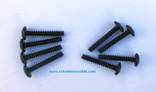 60087 Cap Head Self-tapping Screw 3*18   8 Pieces