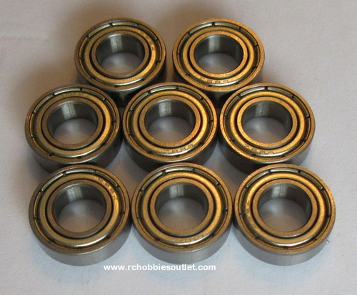 98053 Ball Bearings 8x16x5 mm for 1/8 scale Rock Crawler HSP Redcat