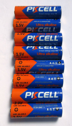 PIKCELL Ultra Alkaline AA Battery ( 8 batteries)
