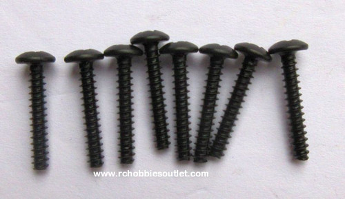 60082 Cap Head Self tapping Screw 3*18  8 Pieces