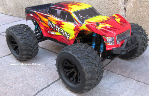 Wolverine Pro RC Truck Brushless Electric 1/10 4WD LIPO 2,4G 70192
