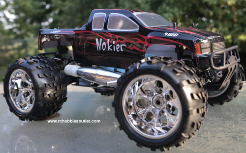 RC Nitro Truck 1/8 Scale  Radio Control Nokier 3.5cc  4WD 2 Speed 2.4G 86297