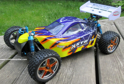 RC Buggy / Car  Brushless Electric HSP 1/10  XSTR-PRO LIPO 2.4G 4WD 10717