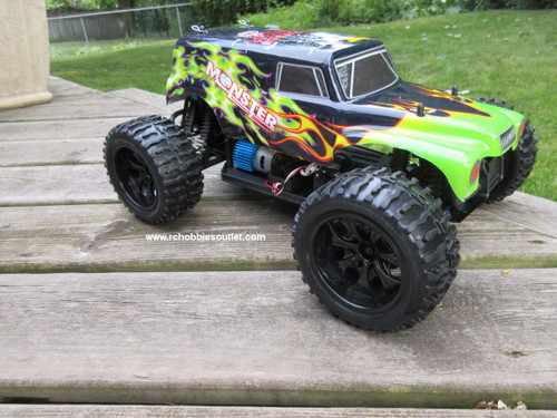 RC Truck Electric 1/10 Scale 4WD 2.4G Off- Road, RTR  250-A
