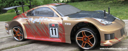 RC Drift Car Electric Radio  Control RTR 1/10 2.4G 4WD 12311