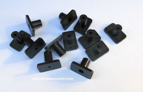 Plastic Tabs for Waco Airplane ( 12 Pieces)