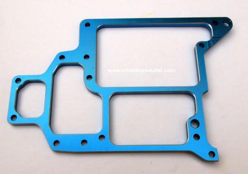 108865 / 108065 Aluminum  Upgrade  Radio Tray  Blue