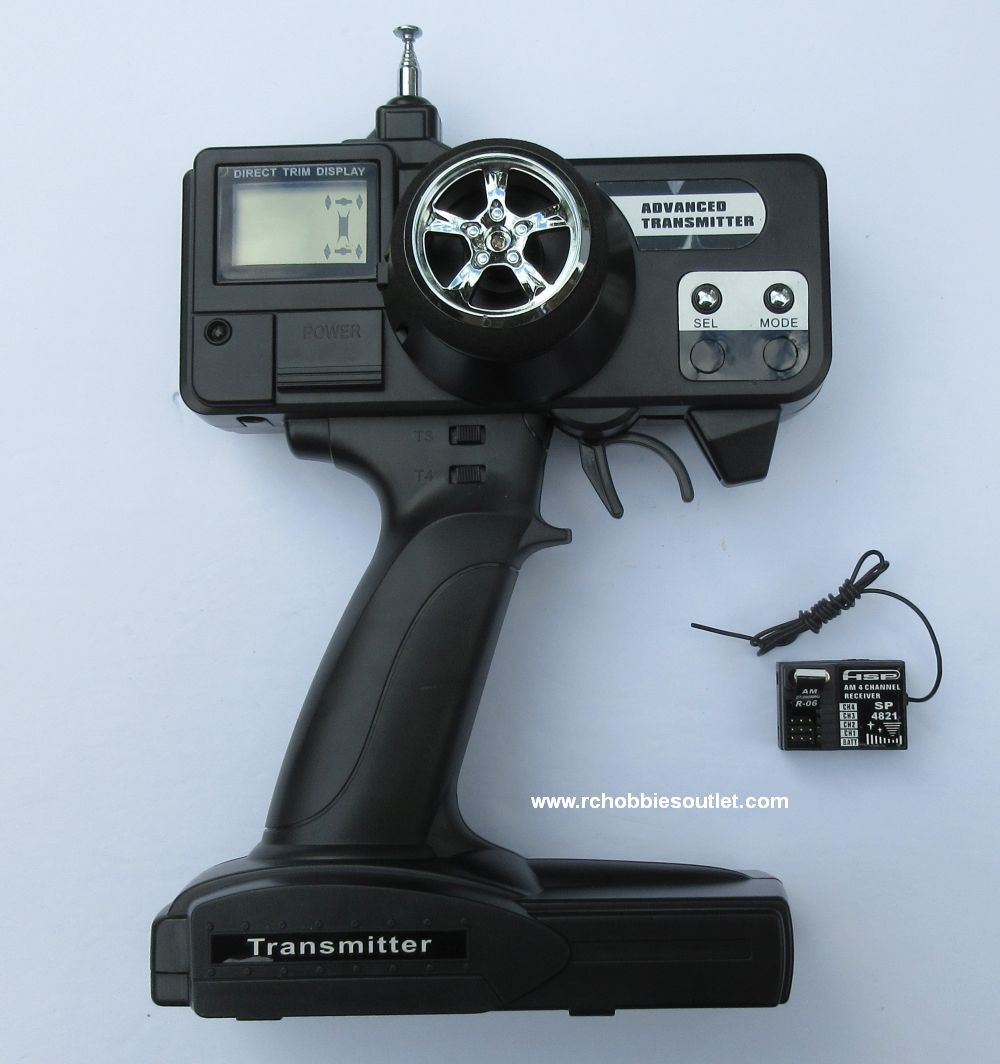 HSP AM 3 Channel Transmitter and AM 3 Channel receiver for
