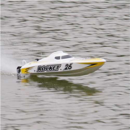 Joysway ROCKET V2 RC Boat Deep-V Hull Brushless Electric 8651 Ready to Run