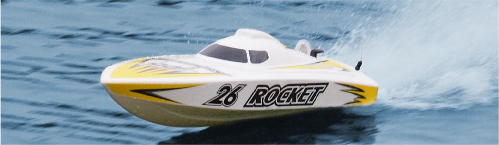 Joysway ROCKET V2 RC Boat Deep-V Hull Brushless Electric