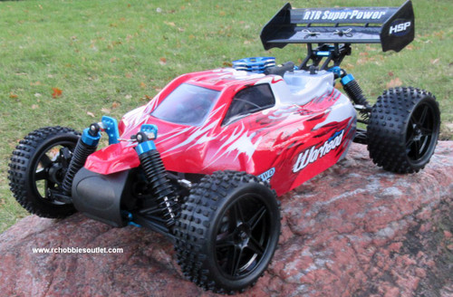 RC Nitro Gas  Buggy / RC Car  HSP WARHEAD 2 Speed 2.4G 1/10 RACE 10750