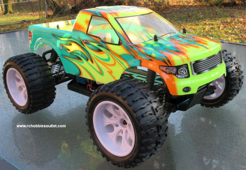 RC Truck Electric 1/10 Scale 4WD 2.4G Off- Road, RTR  88072