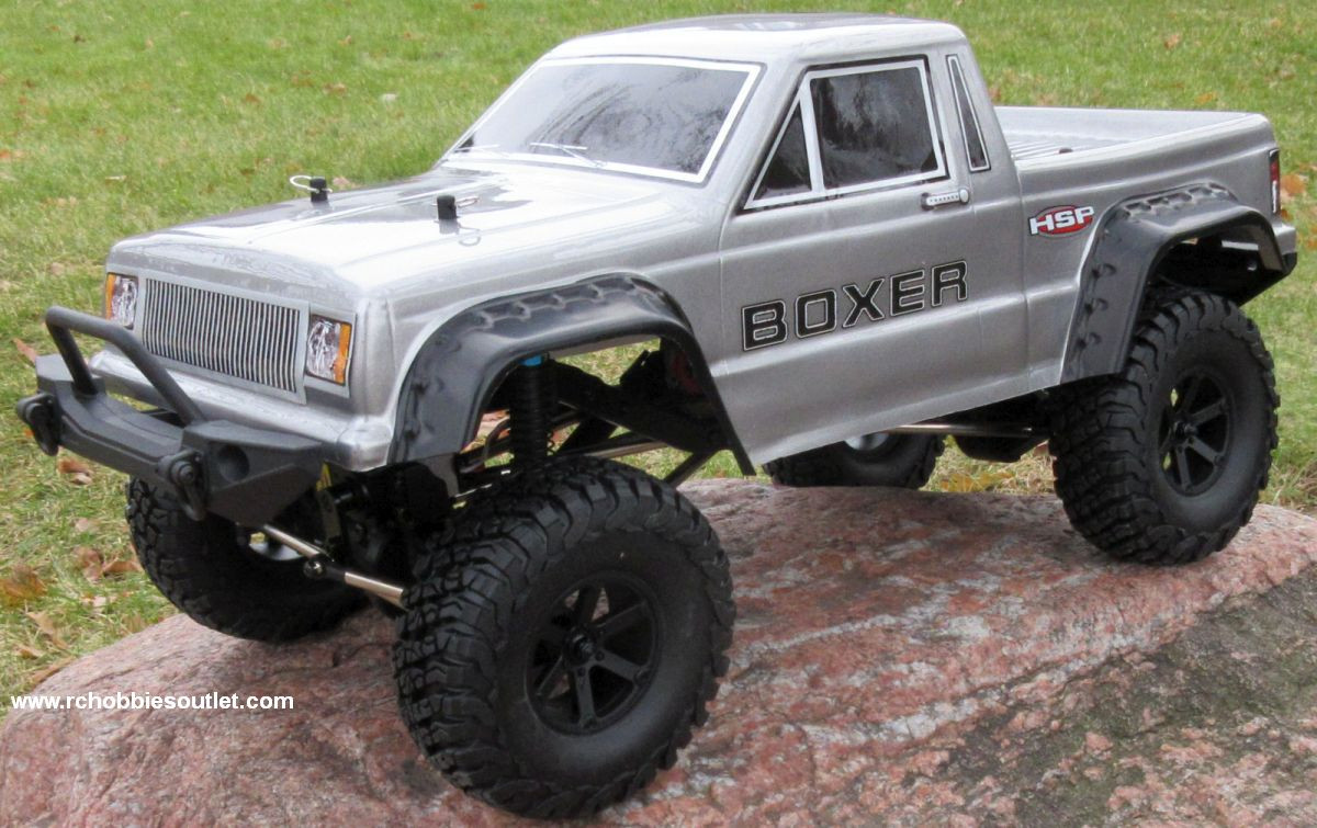 RC Crawler/Trail Truck BOXER Electric 1/10 Scale RTR 2 4G 4WD 70662