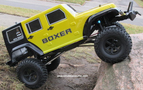 RC Rock Crawler Truck BOXER Electric 1/10 Scale RTR 2.4G 4WD 70693