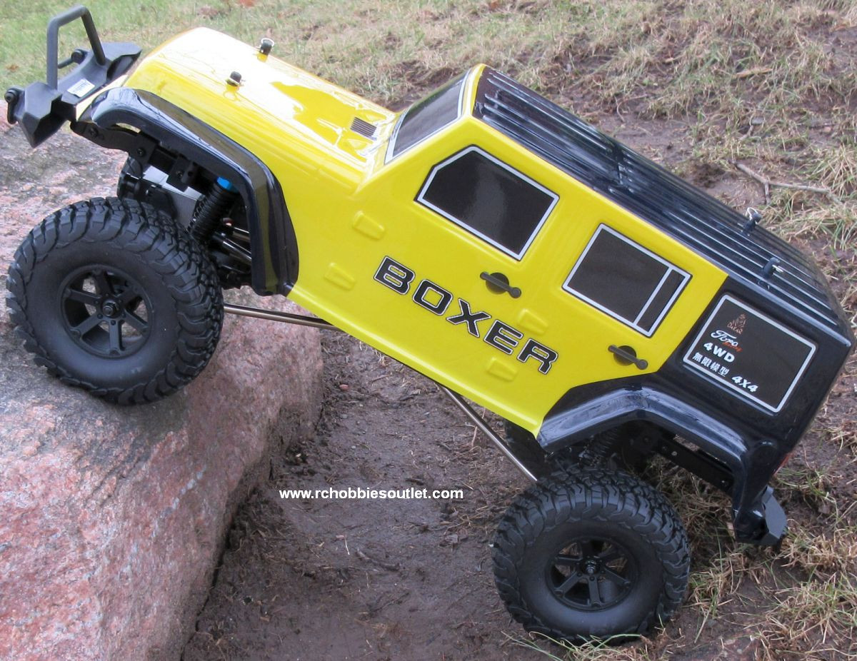 RC Crawler/Trail Truck BOXER Electric 1/10 Scale RTR 2 4G 4WD 70693