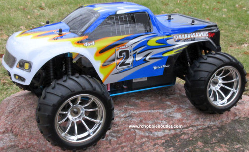 RC Nitro Gas Monster Truck HSP 1/10 Scale 4WD 2.4G RTR YX10111B