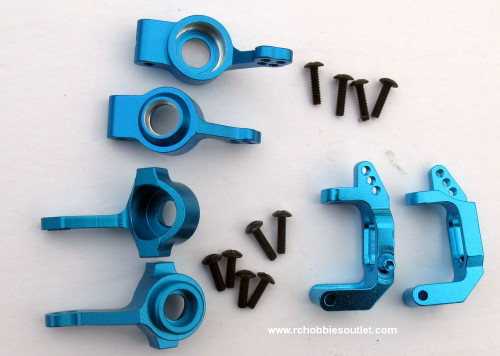 1/10 Scale Blue Metal Upgrade Bundle 102211 or 102011 & 102210 or 102010 & 102212 or 102012