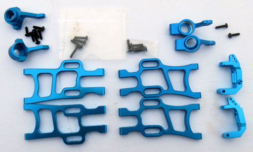 1/10 Scale  Blue Suspension Upgrade Bundle 106619, 106621, 102210, 102211, 102212