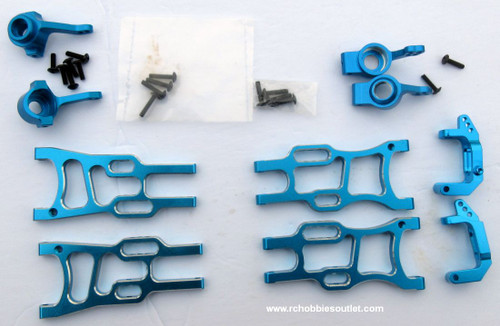 1/10 Scale  Blue Suspension Upgrade Bundle 108819, 108821, 102210, 102211, 102212