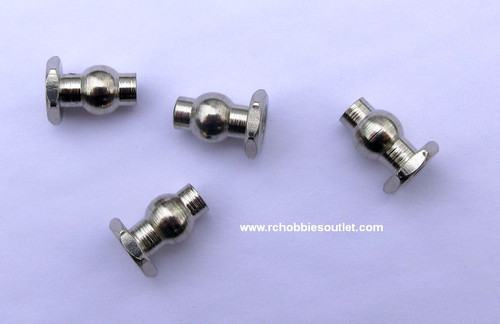 60037 1/8 Scale Rear Upper Suspension Arm Balls 5.8  HSP