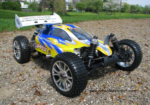 RC Buggy / Car  3.5cc Nitro Gas Engine 1/8 Scale  4WD 2.4G 76902