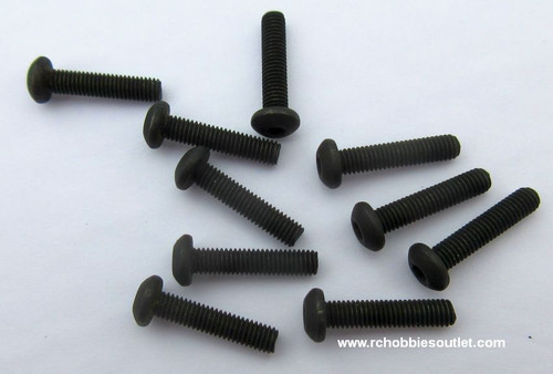 14582 Button Head Metric Hex Screw   3*14mm 10P