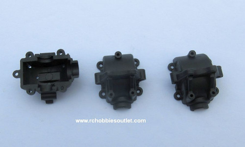 24603 Gear Box (F/R)   ( 3 Pieces)  for HSP 1/24 Scale