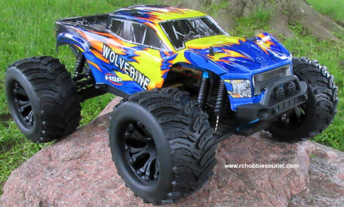 Wolverine  RC Truck Electric 1/10 Scale  4WD LIPO 2,4G 70191