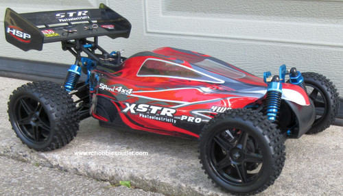 RC Buggy / Car  Brushless Electric HSP 1/10  XSTR-PRO LIPO 2.4G 4WD 10735