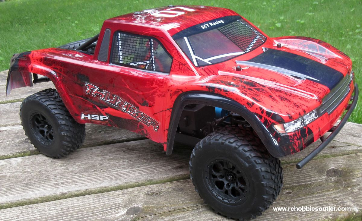 Thunder Pro RC Short Course Truck Brushless Electric 1/10